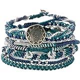 (ワカミ) wakami ブレスレット Earth Bracelet 7strands