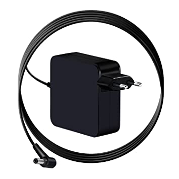 Cargador portátil de portátil para Asus K550 K550L K550LA K550C K550CA K550LA AC Adaptador de portátil Power Supply Cord (19V 3.42A 65W)