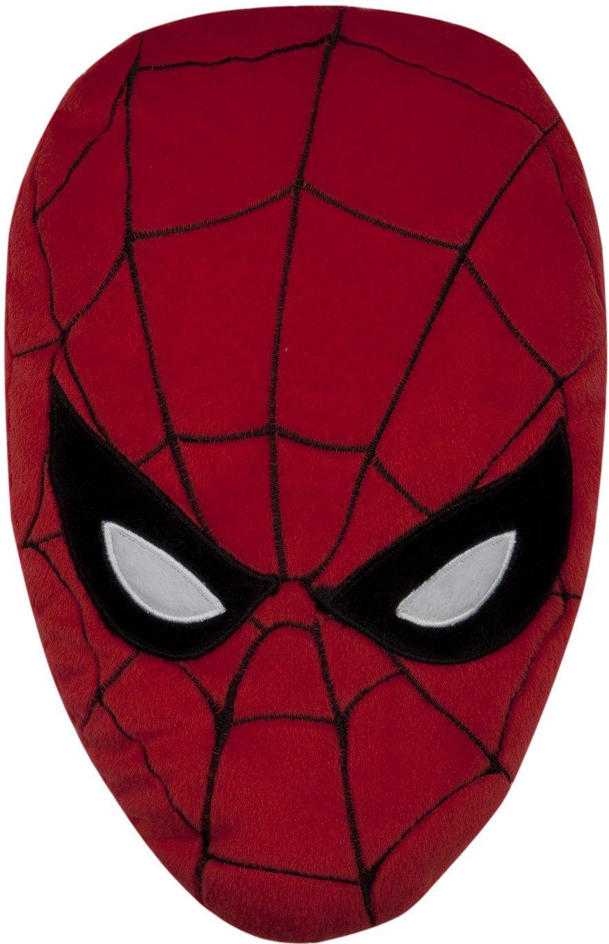 Spider-Man Cojín Face Mask Marvel Comics Spiderman Cushion ...