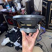 20,32 cm, 200 W, 8 Ohm, subwoofer y woofer con cono de inyecci/ón de polipropileno Pyramid WH8 Altavoces color negro