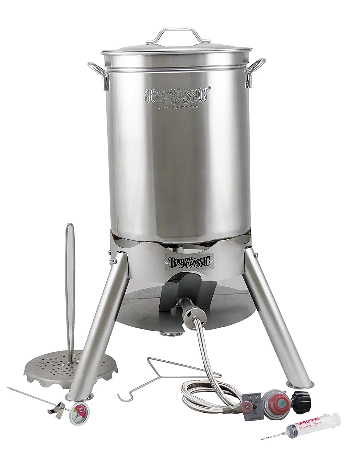 Bayou Classic 200-440 44-Qt Turkey Fryer Kit