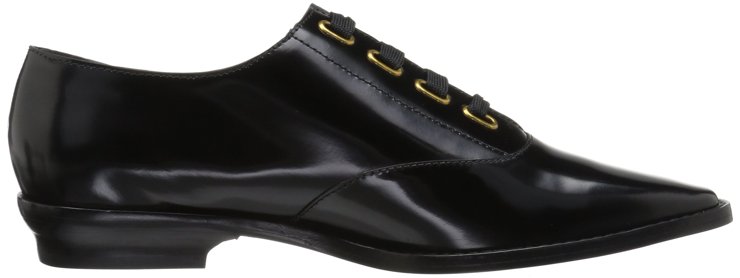 Marc Jacobs Women's Brittany Lace up Oxford, Black, 37 M EU (7 US) by Marc Jacobs (Image #7)