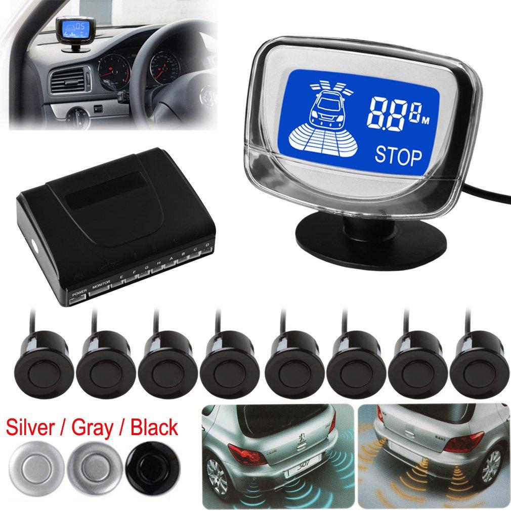 8 View anteriori e posteriori Epathchina sensori di parcheggio con monitor impermeabile ePathChina®