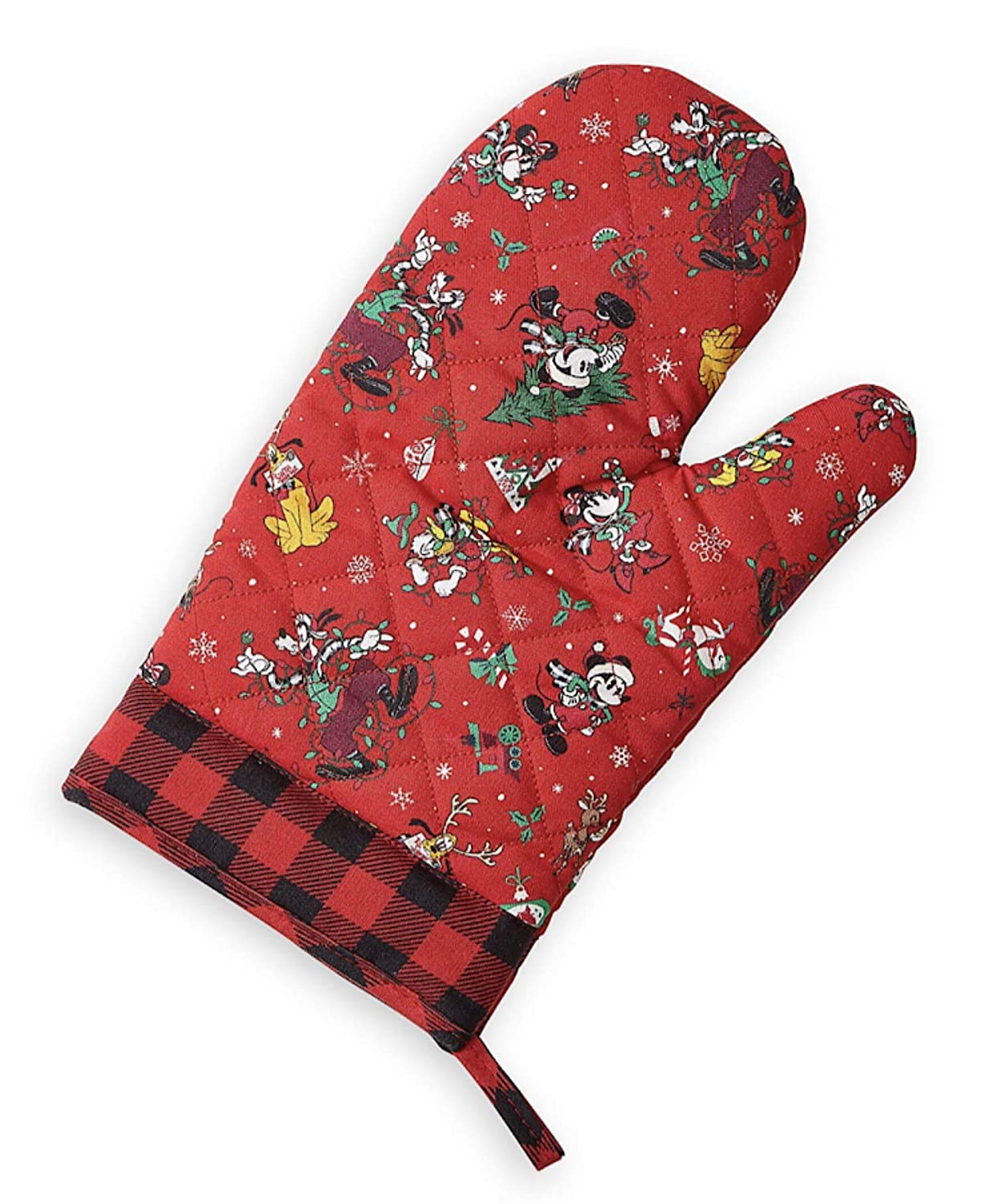 Dsney Parks Mickey Mouse and Friends Christmas Oven Mitt