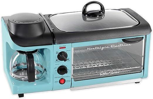 Amazon.com: Nostalgia Electrics Retro Series 3 en 1 estación ...