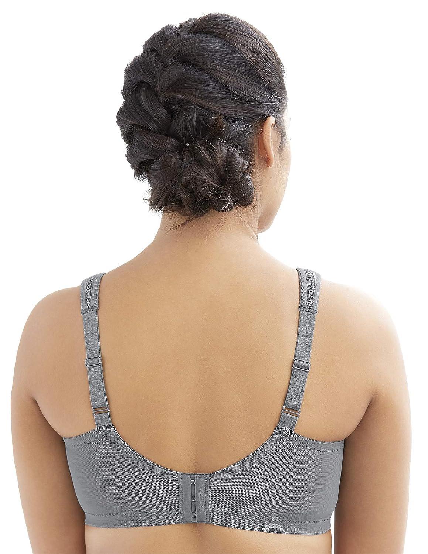 Glamorise Womens Full Figure MagicLift Moisture Control Wirefree Bra # 1064