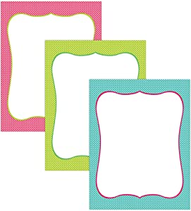 """Great Papers! Spring Dots Assortment Letterhead, 8.5""""x11"""", 60 Count (2013065)"""
