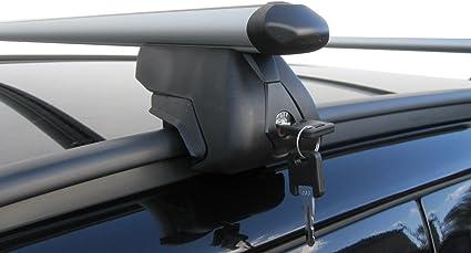 M.Way NNRB1040.166 120mm UNVERSAL CAR ROOF AERO Bars Rack Aluminium Locking Cross Rails