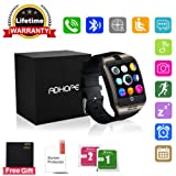 Bluetooth Smart Watch Touchscreen with Camera,Unlocked Watch Cell Phone with Sim Card Slot,Smart Wrist Watch,Waterproof Smartwatch Phone for Android Samsung IOS Iphone 7 Plus 6S Men Women Kids Boys