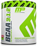 MusclePharm BCAA Powder, Muscle Recovery, Muscle Building, 6g Amino Acids, Watermelon, 30 Servings