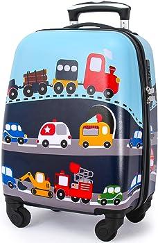 Lttxin Kids Rolling Hard Shell Kids Luggage