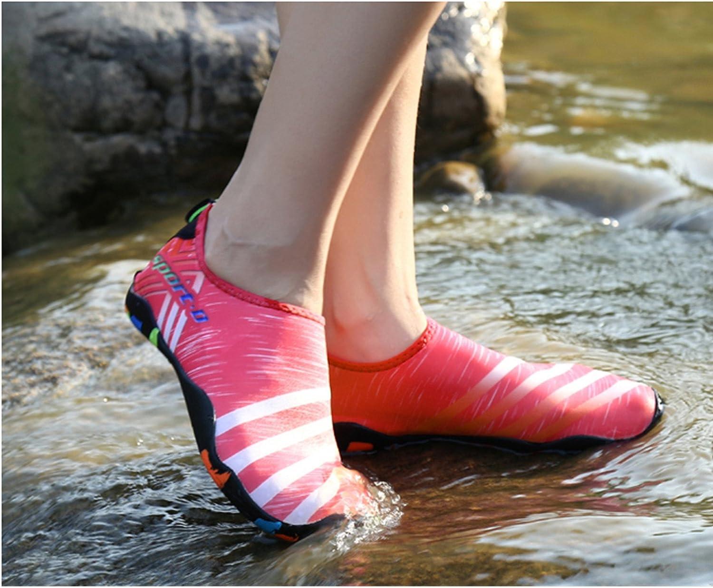 SAGUARO Unisex Badeschuhe Aquaschuhe Wasserschuhe Schwimmschuhe Weiche Atmungsaktiv Leicht rutschfest Schuhe F/ür Damen Herren