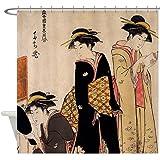 CafePress - Geishas - Decorative Fabric Shower Curtain