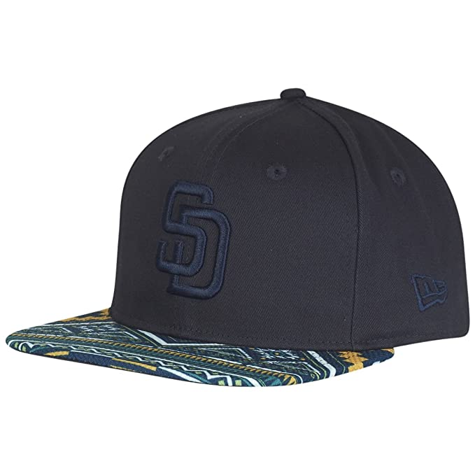 Gorro Snapback New Era 9Fifty West Coast Visor San Diego Padres Amarillo-Emerald  (S c0392a8cad8