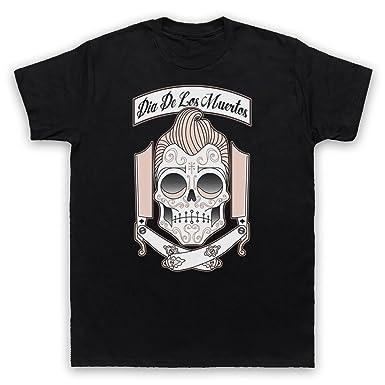 8b0ac8256 Dia De Los Muertos Mexican Day Of The Dead Mens T-Shirt: Amazon.co.uk:  Clothing