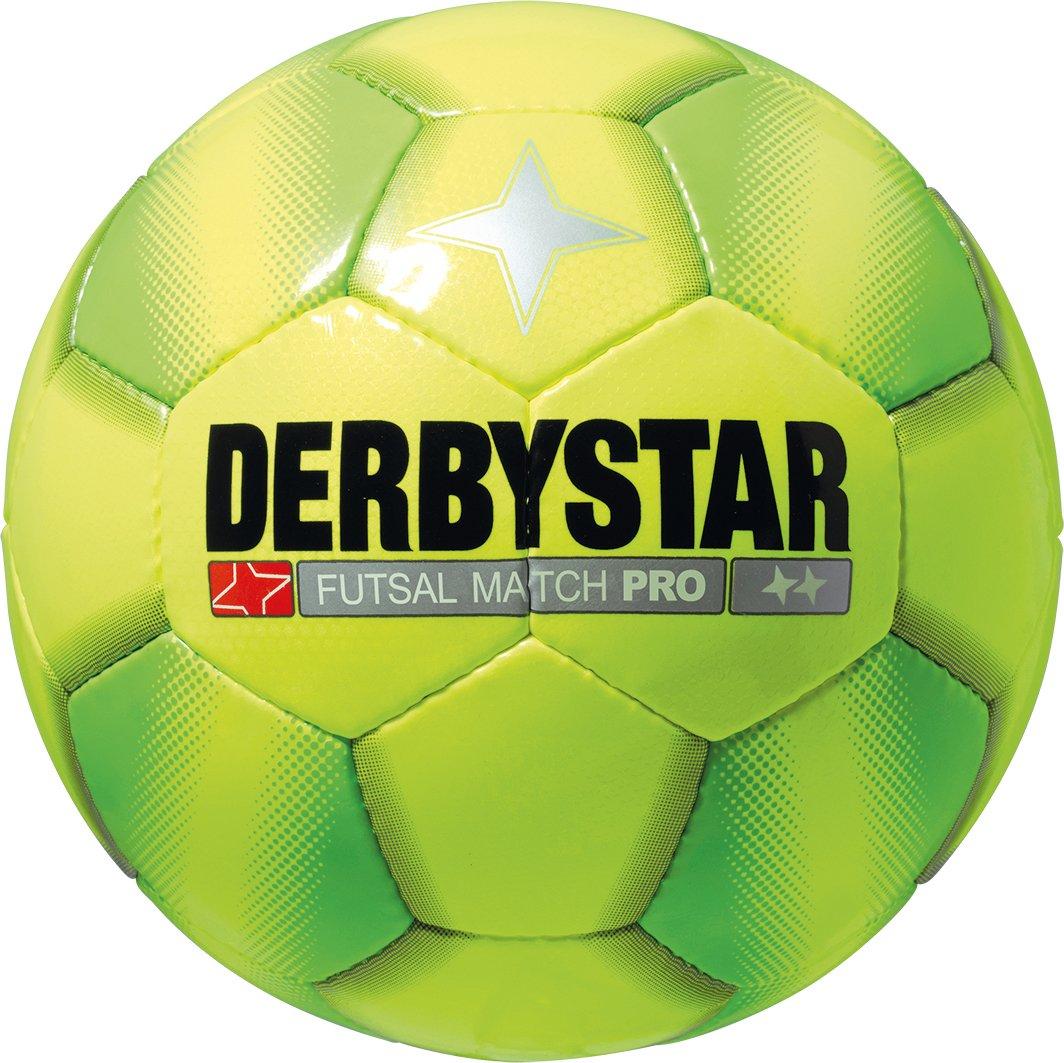 Derbystar Futsal Match Pro, Amarillo/Verde, 4, 1084400540