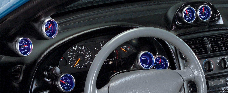 Auto Meter 10001 Gauge Works Dual Gauge Dash Pod