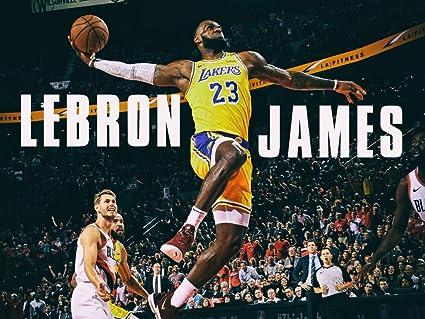 28d795a82a5e3 Amazon.com: Lebron James Monster Tomahawk Slam Dunk Los Angeles ...