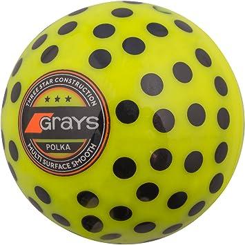 Pelota a lunares, de Grays, color amarillo y negro, tamaño ...