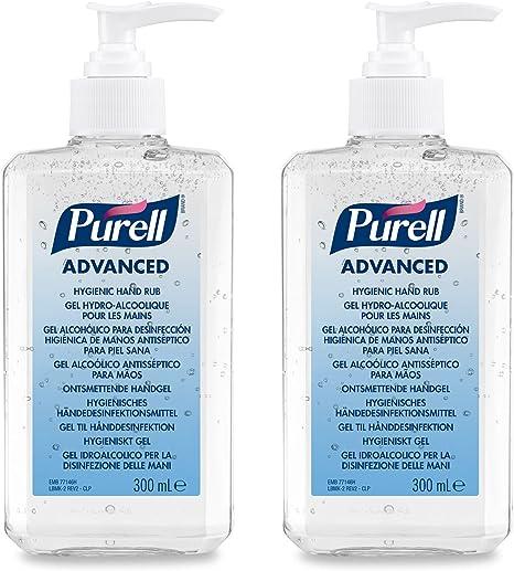 Purell Advanced Gel Idroalcolico Disinfettante Mani 2 X