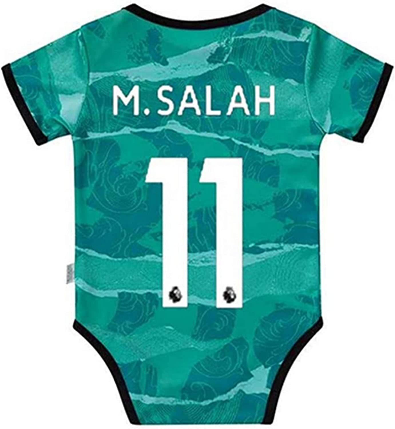 Football Fans Club Home and Away Soccer Baby Bodysuit Comfort Jumpsuit for 0-18 Months Infant and Toddler New Season Jersey