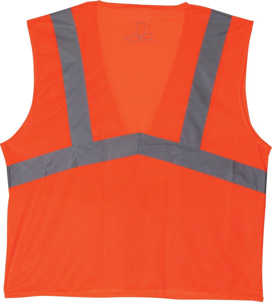 Orange, XXXX-Large LIFT Safety Viz-Pro 5-Point Break Away Vest AV5-13E4L