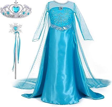 JerrisApparel Prinzessin Kost/üm Karneval Verkleidung Party Kleid