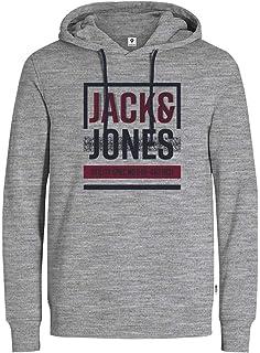 Jack   Jones Men s Jormetallica Sweat Hood Hoodie  Amazon.co.uk ... 5d0cd939f7