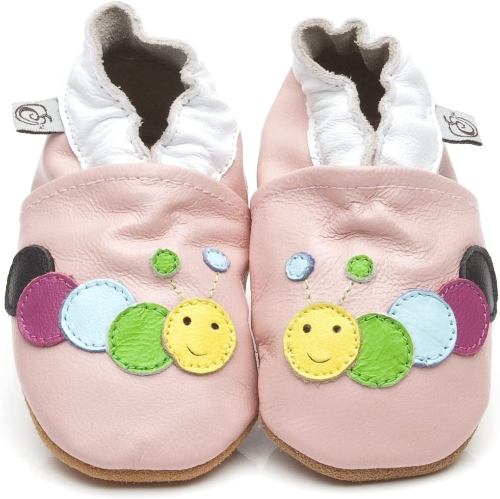 Soft Leather Baby Shoes Caterpillar