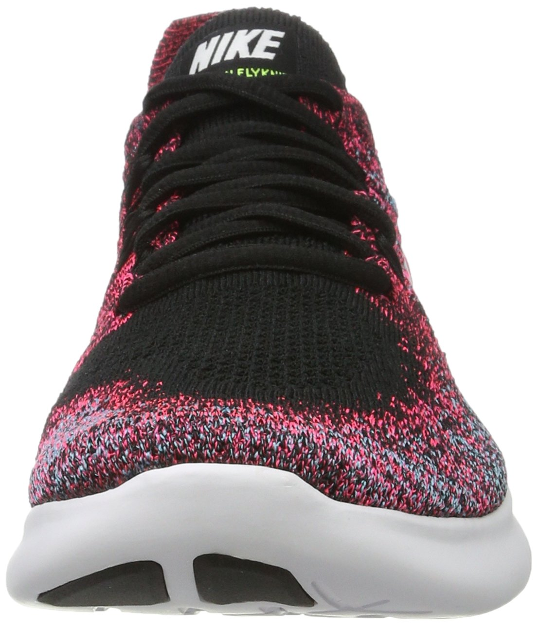 NIKE Women's Free RN Flyknit 2017 Running Shoe B007QZSV12 9 B(M) US Black/White-racer Pink-gamma Blue