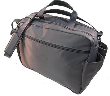 0efb0744cbfe BeSafeBags Super Traveler Under Seat Anti-Theft Carry On Boarding Bag  (Pewter)