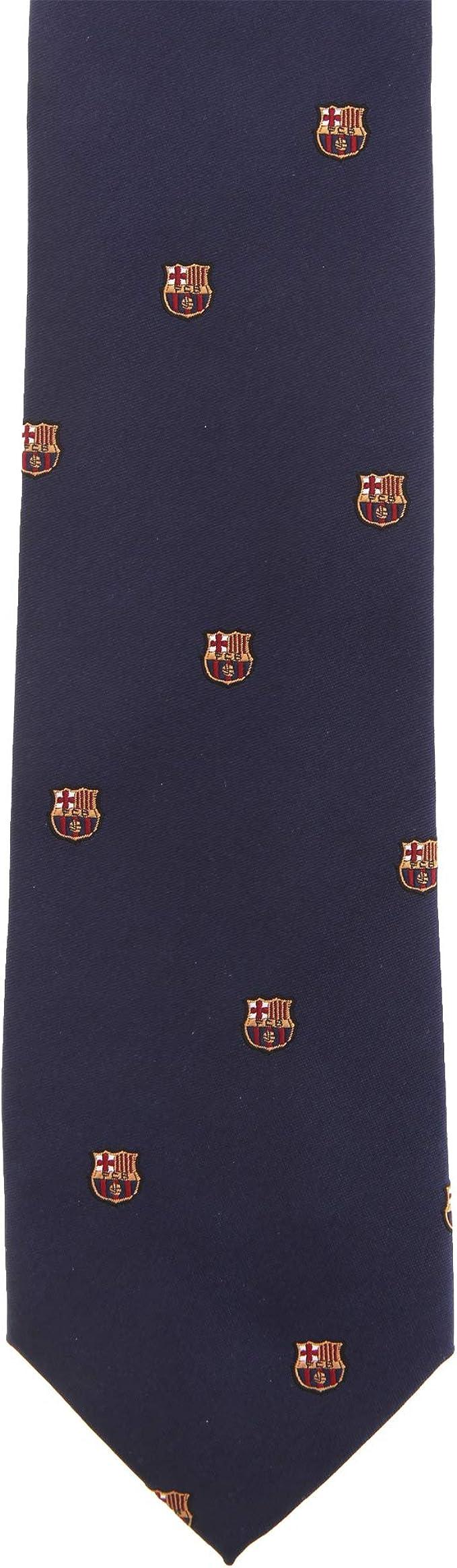 Barcelona F.C. - Corbata - para hombre azul azul marino Talla ...