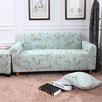 Excellent Nordmiex Stretch Sofa Slipcovers Fitted Furniture Protector Print Sofa Cover Stylish Fabric Couch Cover With 2 Pillowcases For 3 Cushion Couch Sofa 3 Theyellowbook Wood Chair Design Ideas Theyellowbookinfo