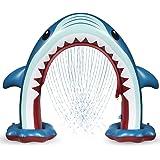 Anpro Giant Shark Sprinkler for Kids - Summer Inflatable Water Toys Outdoor Arch Sprinkler for Boys Girls, Outside Water…