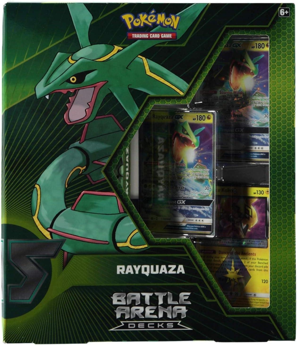 Rayquaza Battle Arena Decks