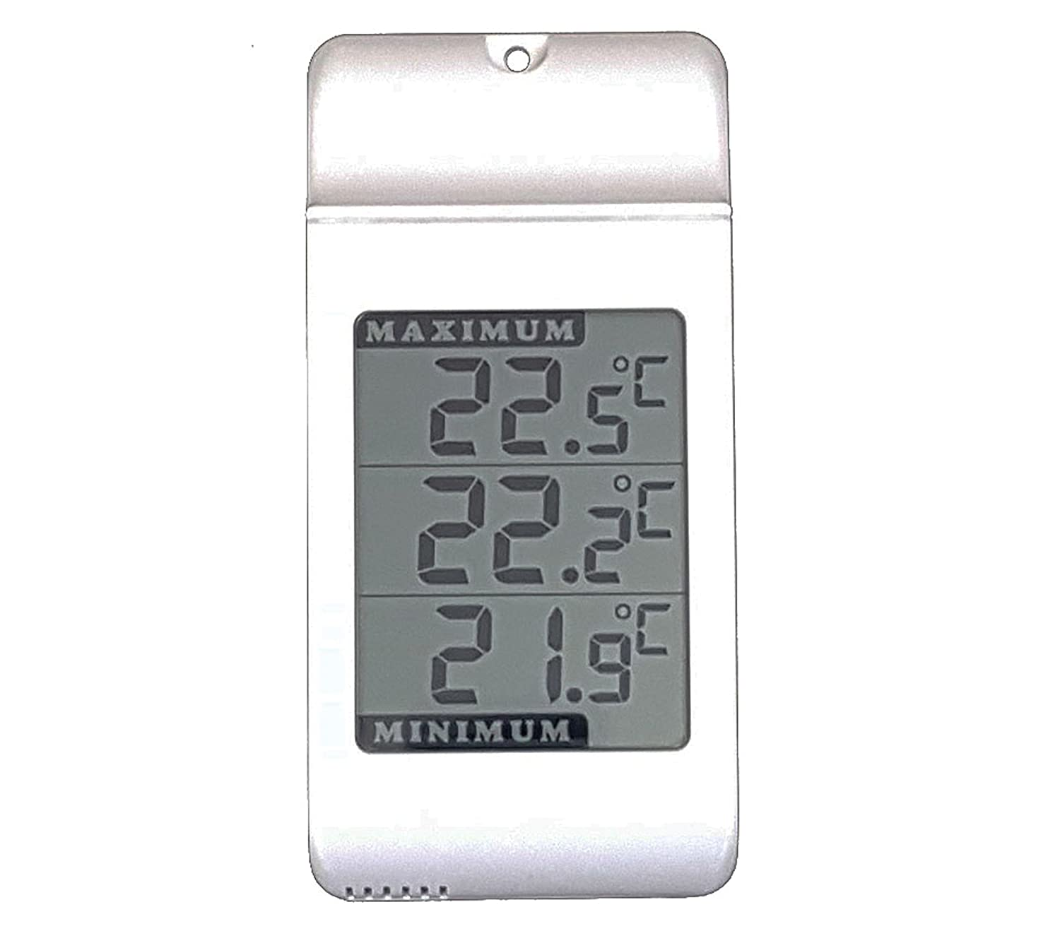 Digital Max Min wall Thermometer -Indoor Outdoor Garden Greenhouse Jumbo Display