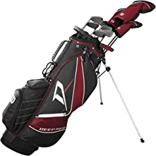 Wilson Staff Deep Red Tour Complete Golf Set (Men's, Right Hand)