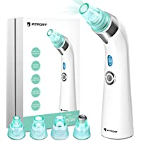 Blackhead Remover Vacuum Pore Cleaner - 2019 Upgraded USB Rechargeable Acne Comedone Extractor Tool Machine with 5 Adjustable Suction Power and 4 Replacement Probes