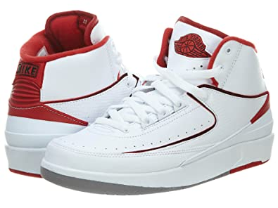 newest collection 4aa5e 5df06 Image Unavailable. Image not available for. Color  NIKE JWONGBOUTIQUE 2014 Air  Jordan II White Varsity Red ...
