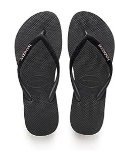 b05f3da82150 Havaianas Women s Slim Velvet Flip Flops  Amazon.co.uk  Shoes   Bags