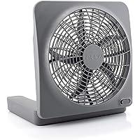 O2COOL 10-Inch Standard Base Personal Fan, Universal, Gray