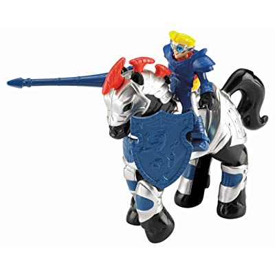 Fisher-Price Imaginext Dern Daring Jousting Knight Toy: Toys & Games