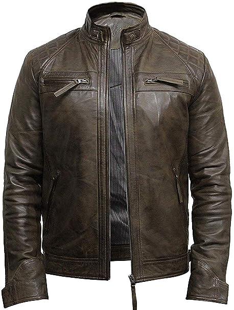 giacca di pelle uomo da ragazzo