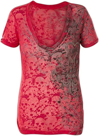 Sinful Sweetwater Burnout Top