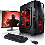 "Megaport Komplett-PC AMD A8-7600 4x 3.80GHz • 22"" Asus Full-HD + Tastatur+Maus • AMD Radeon R7 • 8GB DDR3 • Windows 10 • 1TB komplett set computer komplettsystem rechner gaming-pc günstig gamer pc"