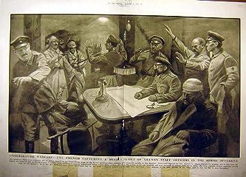 Alemán Subterráneo del Cobertizo de Somme de 1917 Franceses de la Guerra Ww1: Amazon.es: Hogar