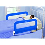 Summer Infant Double Rail de Lit Pliable Bleu