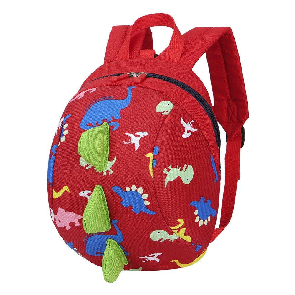 Mochilas infantiles Patrón de dinosaurio Mochila Bebé Bolsa para la escuela por Morwind (Azul)