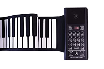 Amazon.com: KMUSIC - Piano enrollable, silicona de grado ...