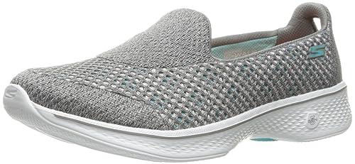 Skechers Performance Go Walk 4 Kindle Zapatos para Caminar sin Cordones para Mujer